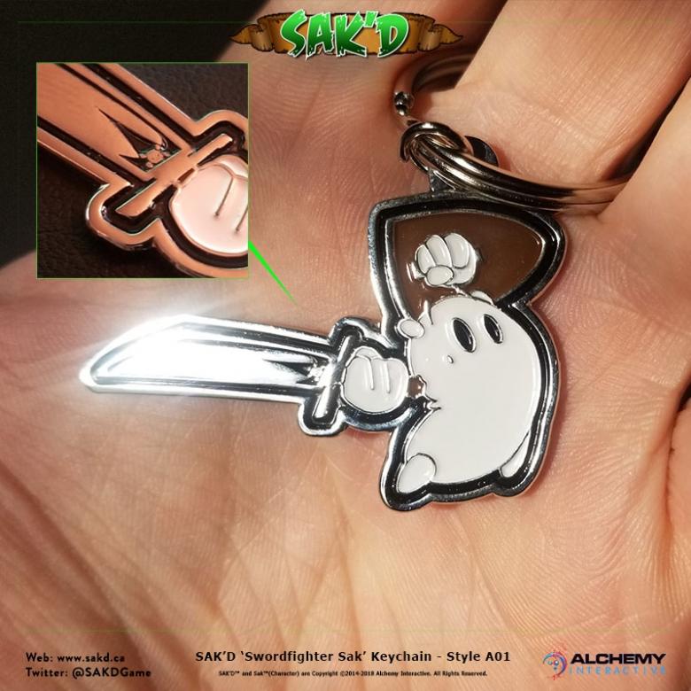 SAK'D Keychain - 'Swordmaster' Edition