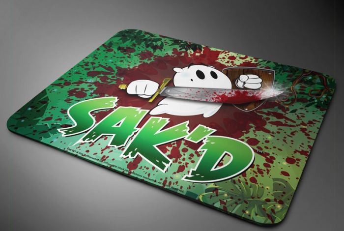 SAK'D Mousepad - 'Platformer' Edition