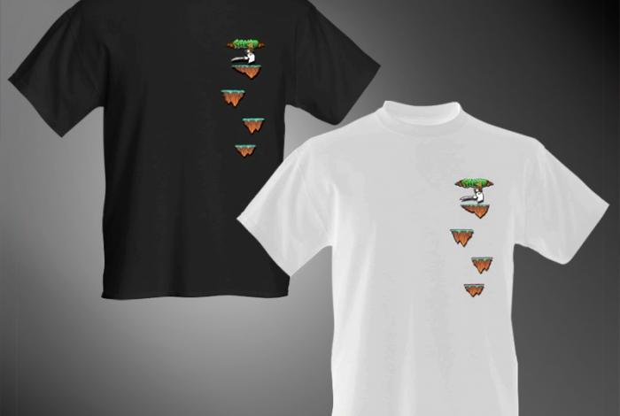 SAK'D T-Shirt - 'Platformer' Edition