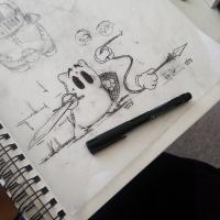 Random Sak Concept Art