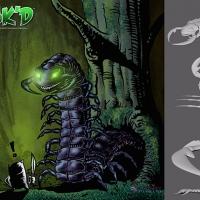 Sak versus the Giant Centipede