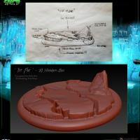 SAK'D 3D Printed Miniature Base