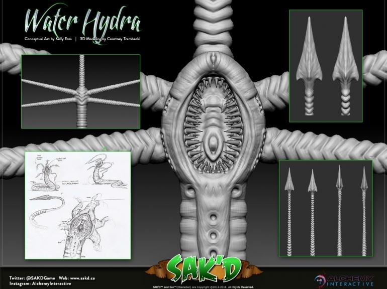 Water Hydra 01 Min