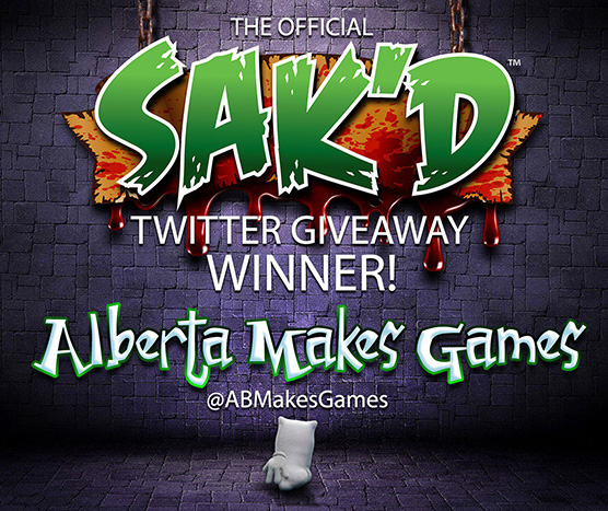 SAK'D Giveaway Winner - Twitter - Chris Hammond
