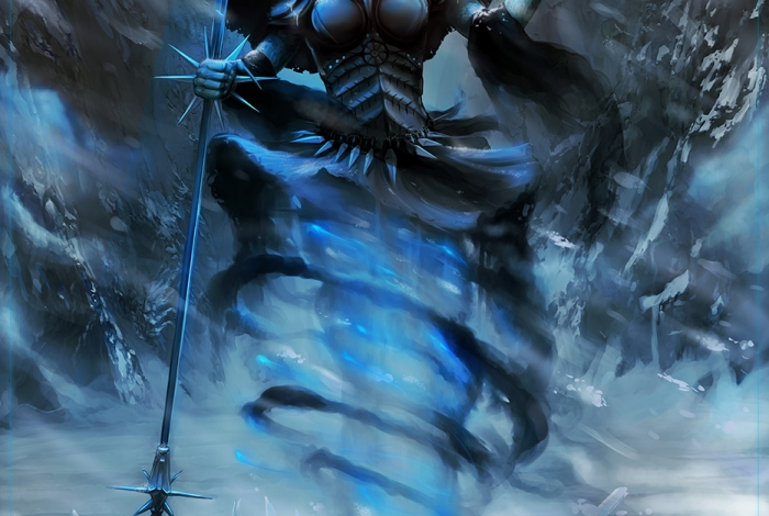 SAK'D - Dark Mage of Elemental Ice Poster