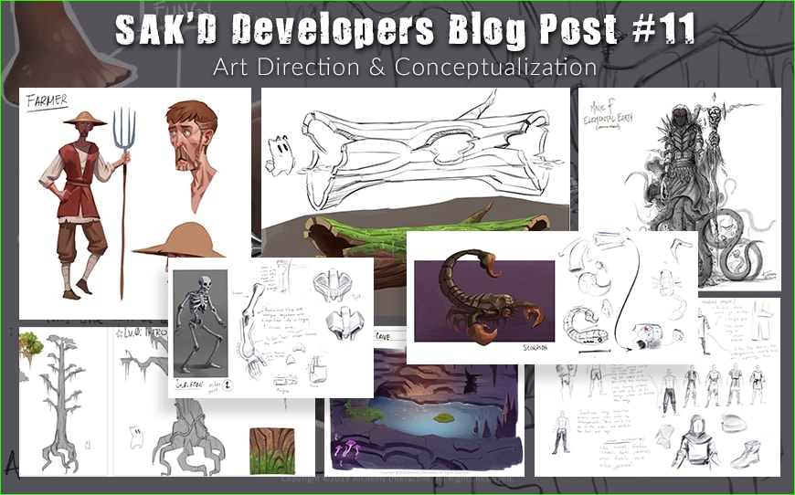 SAK'D Developers Blog - Post 11 - Art Direction and Conceptualization