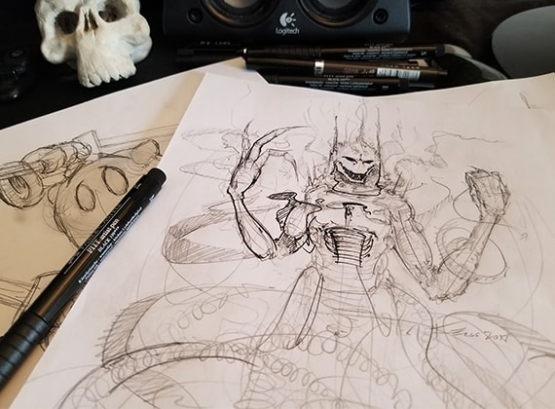 SAK'D Concept Art