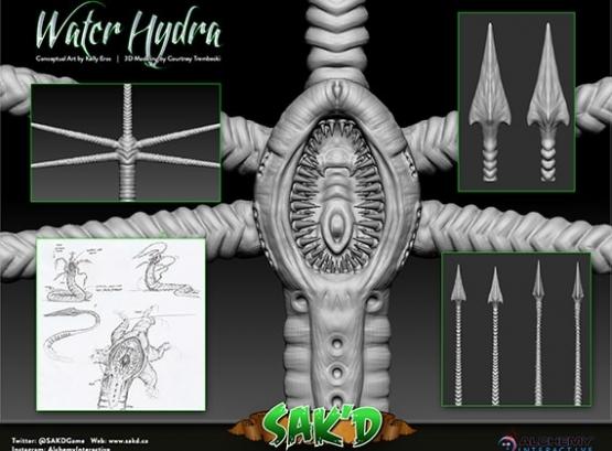 SAK'D Monster - Water Hydra