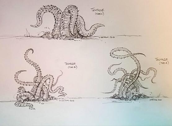 SAK'D Monster - Tentacles