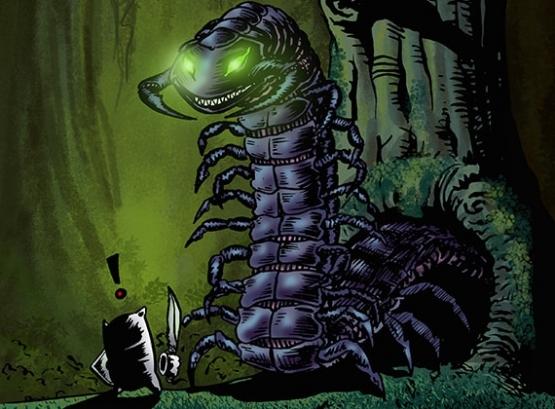 SAK'D Monster - Giant Centipede