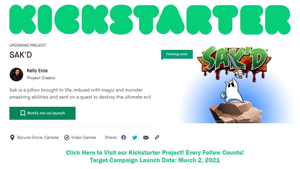 Follow our project on Kickstarter!