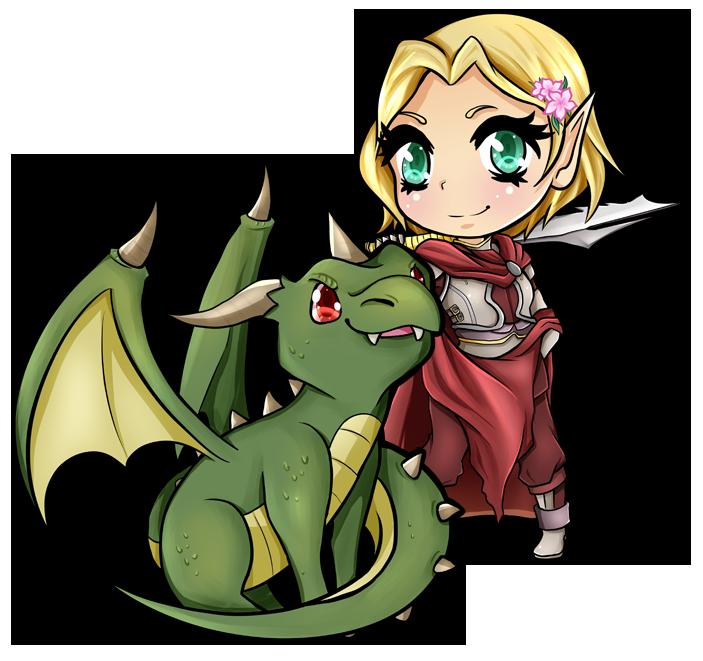 Areya and Talon - Elvermýr